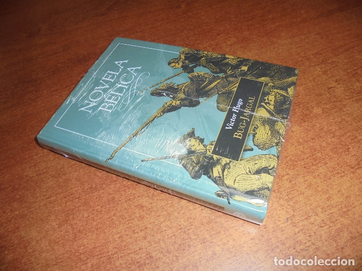 NOVELA BÉLICA: BUG-JARGAL (VICTOR HUGO) SIN DESPRECINTAR. (Libros de Segunda Mano (posteriores a 1936) - Literatura - Narrativa - Otros)