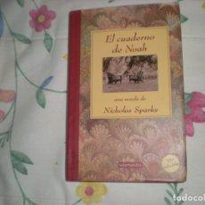 Libros de segunda mano: EL CUADERNO DE NOAH;NICHOLAS SPARKS;SALAMANDRA 2003. Lote 178309921