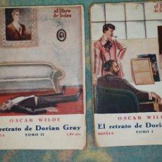 Libros de segunda mano: EL RETRATO DE DORIAN GREY. TOMO I Y II. OSCAR WILDE. Lote 178328998