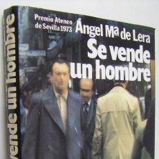 Libros de segunda mano: SE VENDE UN HOMBRE, ANGEL MARIA DE LERA. Lote 178582585