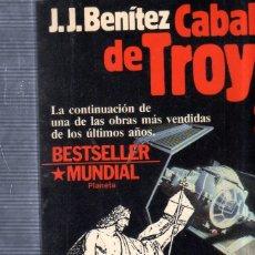 Libros de segunda mano: CABALLO DE TROYA 2). J. J. BENITEZ. PLANETA. 1986.. Lote 178850435