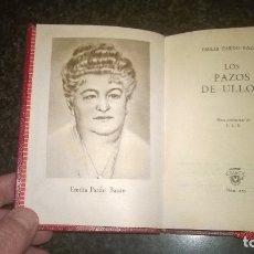 Libros de segunda mano: 255-LOS PAZOS DE ULLOA, EMILIA PARDO BAZAN, CRISOL 255,. Lote 178912355