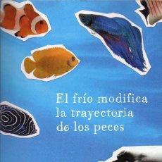 Libros de segunda mano: EL FRIO MODIFICA LA TRAYECTORIA DE LOS PECES. PIERRE SZALOWSKI. Lote 178969987