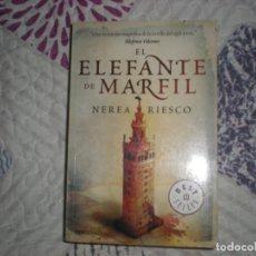 Libros de segunda mano: EL ELEFANTE DE MARFIL;NEREA RIESCO;DEBOLSILLO 2011. Lote 178971085
