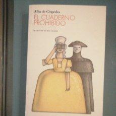 Libros de segunda mano: EL CUADERNO PROHIBIDO. Lote 178983827