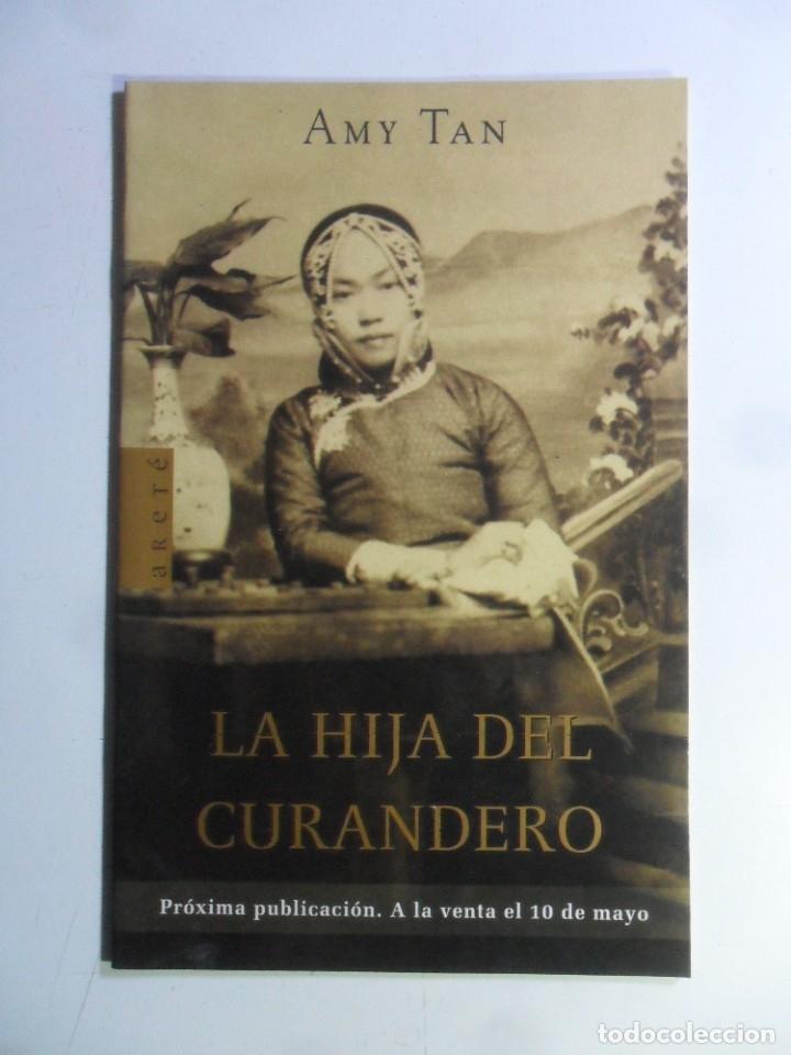CUADERNILLO - LA HIJA DEL CURANDERO - AMY TAN - ED. ARETÉ (Libros de Segunda Mano (posteriores a 1936) - Literatura - Narrativa - Otros)