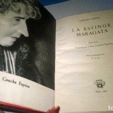 Libros de segunda mano: 320-LA ESFINGE MARAGATA-CONCHA ESPINA-CRISOL 320. Lote 179117211