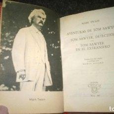 Libros de segunda mano: 242-LAS AVENTURAS DE TOM SAWYER, MARK TWAIN, CRISOL 242, . Lote 179117963