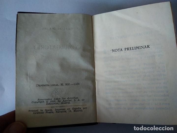 Libros de segunda mano: 78 BIS- EL COMULGATORIO, Baltasar Gracian, crisol 78 bis - Foto 4 - 179118597
