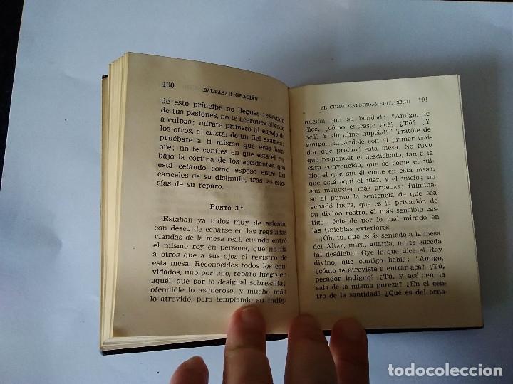 Libros de segunda mano: 78 BIS- EL COMULGATORIO, Baltasar Gracian, crisol 78 bis - Foto 5 - 179118597