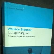 Libros de segunda mano: EN LUGAR SEGURO. WALLACE STENGER. LIBROS DEL ASTEROIDE. . Lote 179132532