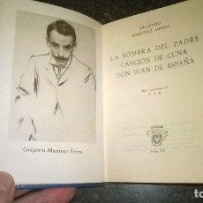 Libros de segunda mano: 233-TEATRO, GREGORIO MARTINEZ SIERRA, CRISOL 233 . Lote 179151587