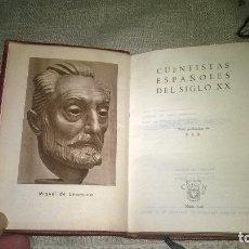 Libros de segunda mano: 126-CUENTISTAS ESPAÑOLES DEL SIGLO XX, CRISOL 126, . Lote 179155091