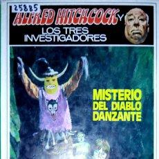 Libros de segunda mano: 25885 - MISTERIO DEL DIABLO DANZANTE - Nº 25 - POR ALFRED HITCHCOCK - EDITORIAL MOLINO - AÑO 1984. Lote 179213435