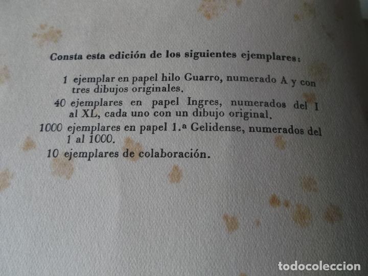 Libros de segunda mano: VVIAJE EN TORNO DE MI CUARTO - XAVIER DE MAISTRE - EDICION NUMERADA ILUSTRADA POR PEDRO PRAT. - Foto 9 - 179239348