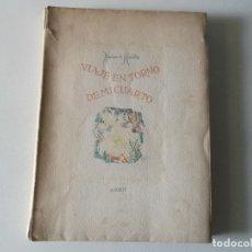 Libros de segunda mano: VVIAJE EN TORNO DE MI CUARTO - XAVIER DE MAISTRE - EDICION NUMERADA ILUSTRADA POR PEDRO PRAT.. Lote 179239348