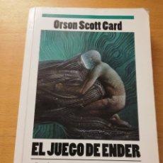 Libros de segunda mano: EL JUEGO DE ENDER (ORSON SCOTT CARD). Lote 179247207
