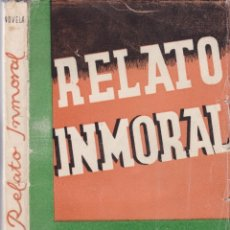 Libros de segunda mano: WENCESLAO FERNÁNDEZ FLÓREZ - RELATO INMORTAL - LIBRERIA GENERAL 1942 / ZARAGOZA. Lote 179316367
