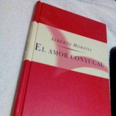 Libros de segunda mano: RW__LIBRO ,EL AMOR CONYUGAL/ALBERTO MORAVIA/MIDE APROXIM13X20/TIENE 131PAGINAS. Lote 179337577