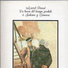 Libros de segunda mano: EN BUSCA DEL TIEMPO PERDIDO 4. SODOMA Y GOMORRA. MARCEL PROUST. ALIANZA. Lote 179375428