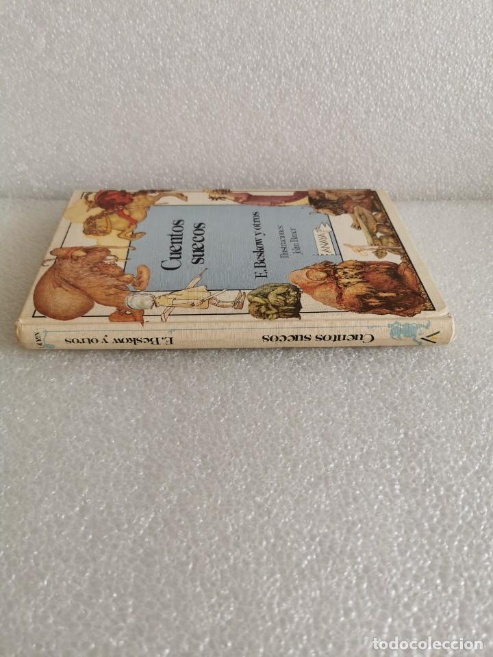 Libros de segunda mano: CUENTOS SUECOS LIBRO E BESKOW Y OTROS ILUSTRADO POR JOHN BAUER - ANAYA AÑOS 80 - TROLLS GNOMO - JOYA - Foto 2 - 179386572