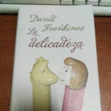 Libros de segunda mano: LA DELICADEZA-DAVID FOENKINOS . Lote 179541847