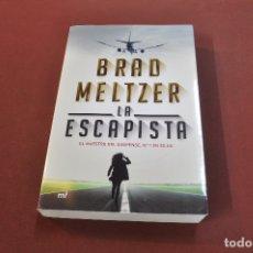 Libros de segunda mano: LA ESCAPISTA - BRAD MELTZER - IDIOMA ESPAÑOL - NOF. Lote 179954396