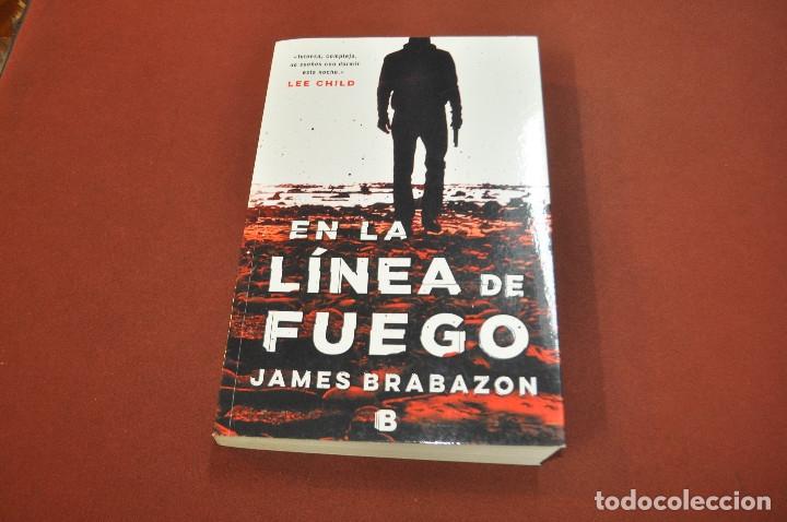 EN LA LÍNEA DE FUEGO - JAMES BRABAZON - IDIOMA ESPAÑOL - NOF (Libros de Segunda Mano (posteriores a 1936) - Literatura - Narrativa - Otros)