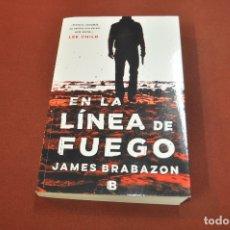Libros de segunda mano: EN LA LÍNEA DE FUEGO - JAMES BRABAZON - IDIOMA ESPAÑOL - NOF. Lote 179954547