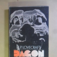 Libros de segunda mano: DAGON - H.P. LOVECRAFT - ALIANZA - 1991. Lote 180019836