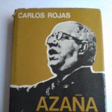Libros de segunda mano: AZAÑA/CARLOS ROJAS. Lote 180043788