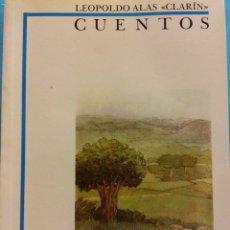 Libros de segunda mano: CUENTOS. LEOPOLDO ALAS CLARÍN. BIBLIOTECA DIDÁCTICA ANAYA. EDITORIAL ANAYA. Lote 180095043