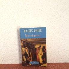 Libros de segunda mano: MARIO EL EPICÚREO - WALTER PATER - VALDEMAR . Lote 180116173