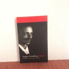 Libros de segunda mano: INFERNO - AUGUST STRINDBERG - ACANTILADO. Lote 180116475