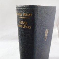 Libros de segunda mano: ALDOUS HUXLEY. OBRAS COMPLETAS TOMO II. PLAZA & JANÉS. Lote 180136662