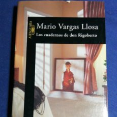 Libros de segunda mano: LOS CUADERNOS DE DON RIGOBERTO. MARIO VARGAS LLOSA.. Lote 180148265