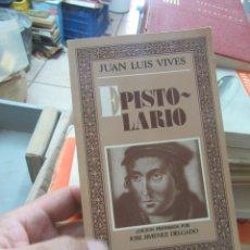 Libros de segunda mano: EPISTOLARIO, JUAN LUIS VIVES. L.14508-526. Lote 180169942