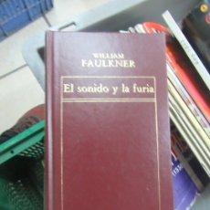 Libros de segunda mano: EL SONIDO Y LA FURIA, WILLIAM FAULKNER. L.14508-550. Lote 180172521
