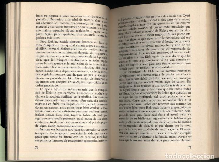 Libros de segunda mano: BAJO EL CULO DEL SAPO .- TIBOR FISCHER - Foto 4 - 180174685