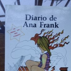 Libros de segunda mano: DIARIO DE ANA FRANK 1981 HECHO EN MEXICO. Lote 180225290