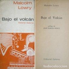 Libros de segunda mano: LOWRY, MALCOLM. BAJO EL VOLCÁN. CUENTO. (FIESTA AT CHAPULTEPEC). 1967.. Lote 180327611