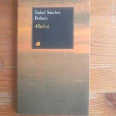 Libros de segunda mano: INDUSTRIAS Y ANDANZAS DE ALFANHUÍ SÁNCHEZ FERLOSIO, RAFAEL. IBERIA 1986 167PP. Lote 180333093