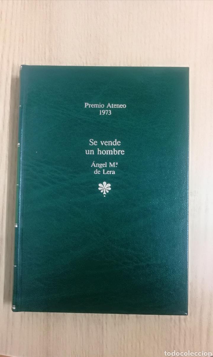 LIBRO SE VENDE UN HOMBRE. ÁNGEL Mª. DE LERA. (Libros de Segunda Mano (posteriores a 1936) - Literatura - Narrativa - Otros)