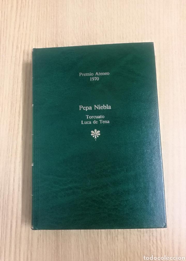 LIBRO PEPA NIEBLA. AUTOR TORCUATO LUCA DE TENA. (Libros de Segunda Mano (posteriores a 1936) - Literatura - Narrativa - Otros)