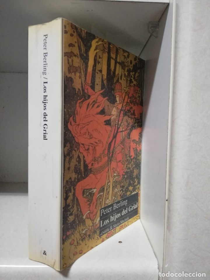 Libros de segunda mano: LOS HIJOS DEL GRIAL. PETER BERLING. ANAYA & MARIO MUCHNIK - Foto 2 - 180431800