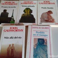Libros de segunda mano: LOTE LIBROS NOGUER CARALT BUC - VENUS PRIVADA - PRADO FLORIDO - MÁS ALLÁ DEL RÍO Y MÁS. Lote 180433577