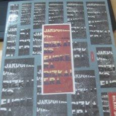 Libros de segunda mano: BIZKAIKO EUSKERA, BIZKAIERA? II. JARADUNALDIAK SOZIOLINGUISTIKAZ AÑO 1993. Lote 180461536