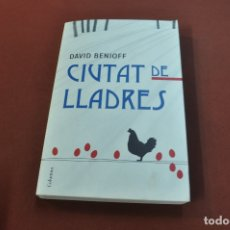 Libros de segunda mano: CIUTAT DE LLADRES - DAVID BENIOFF - NOF. Lote 180489042