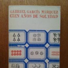 Libros de segunda mano: CIEN AÑOS DE SOLEDAD, GABRIEL GARCIA MARQUEZ, EDITORIAL SUDAMERICANA, 1974. Lote 180512161