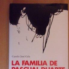 Libros de segunda mano: LA FAMILIA DE PASCUAL DUARTE / CAMILO JOSÉ CELA / ILUSTRACIONES DE ANTONIO SAURA. Lote 180842598